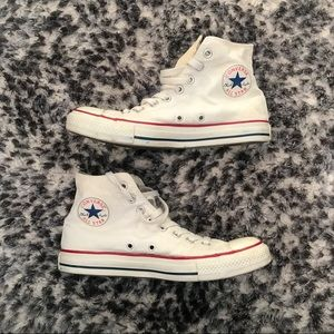 Unisex White Converse Sneakers High Top